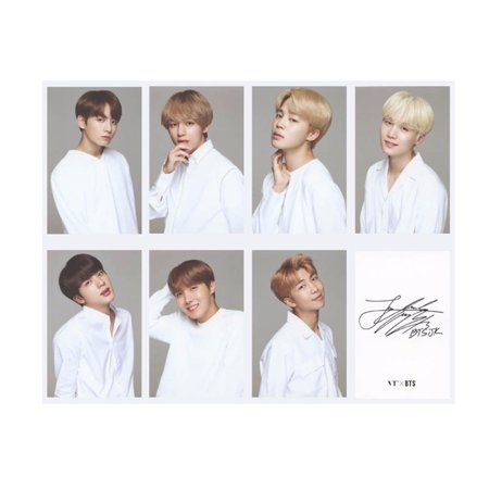 Fancyleo 7 Pcs KPOP BTS Bangtan Boys Members Photo Postcard Lomo Cards A.R.M.Y Best
