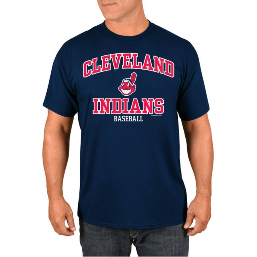 MLB Cleveland Indians Men's High Praise T-Shirt