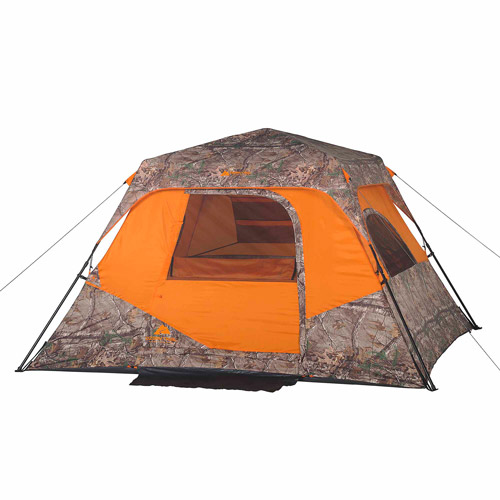 Ozark Trail Realtree Xtra 6 Person Instant Cabin Tent