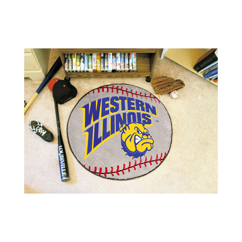 FANMATS NCAA Western Illinois University Baseball Mat
