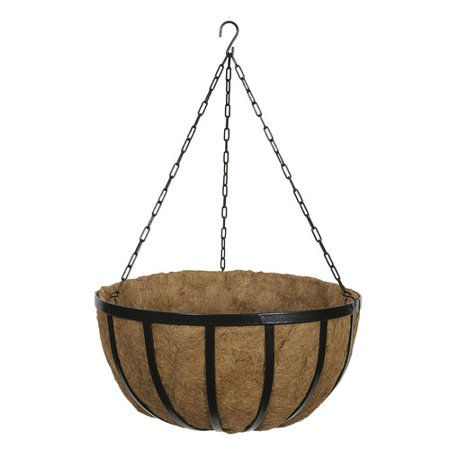 World Source Partners Steel Hanging Planter  Set Of 5
