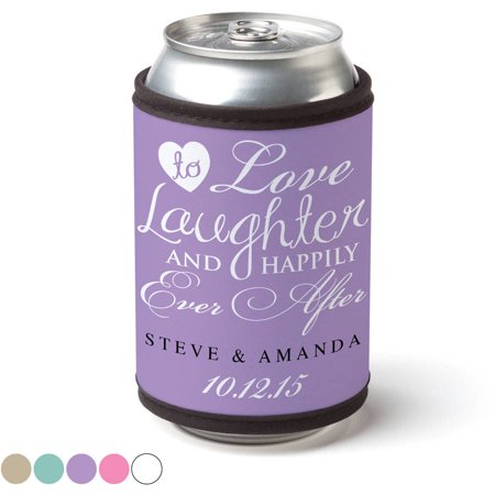 Personalized Happily Ever After Can & Bottle Wrap - Personalized Hennessy Bottle