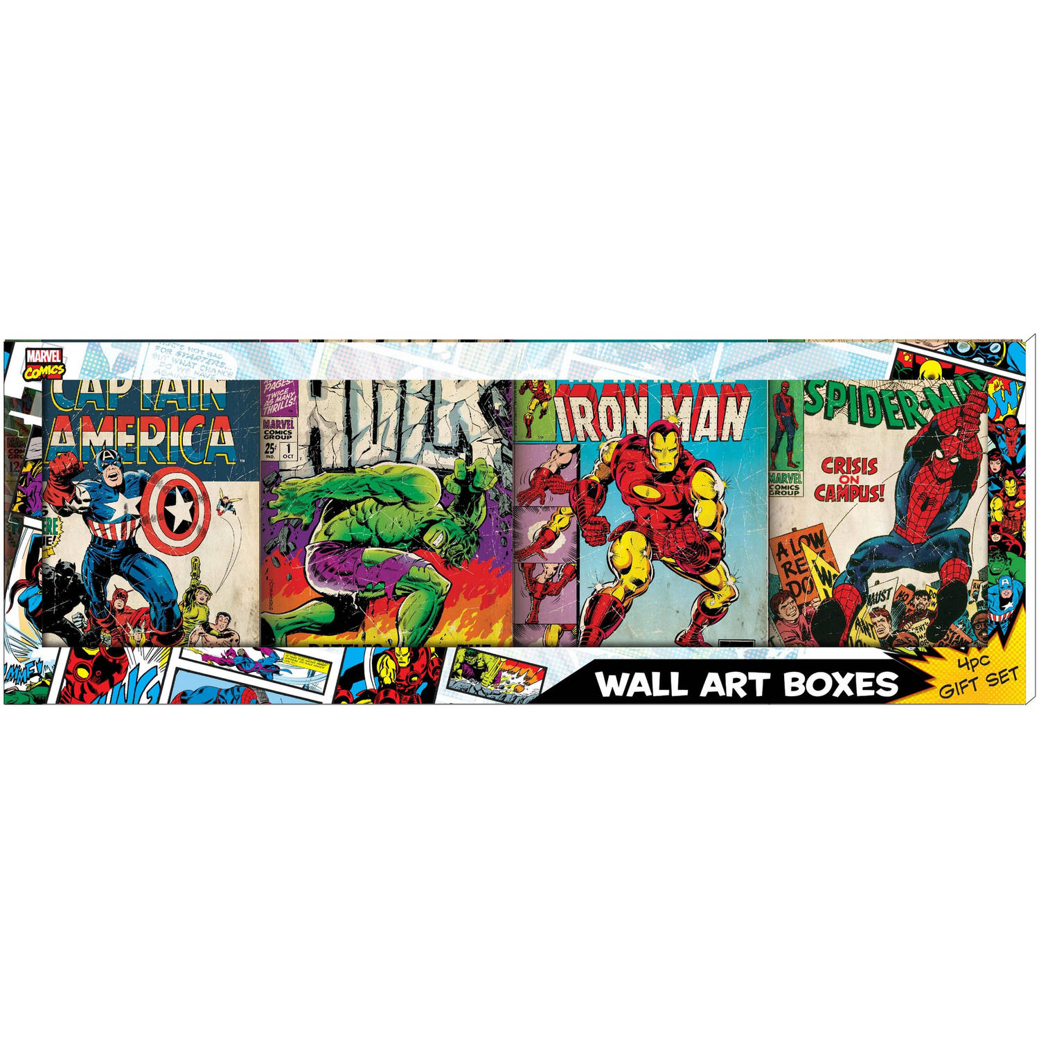 Marvel Avengers Comic Book Cover Gift Set