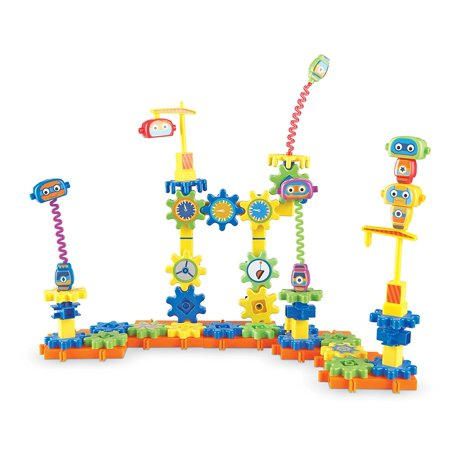 Learning Resources Gears! Gears! Gears! Robot Factory Building Set, 80 Pieces - Gear Toys