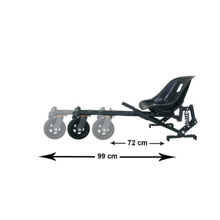 Gyrocopters Hovercart Mobility Board Seat Attachment - image 6 of 8