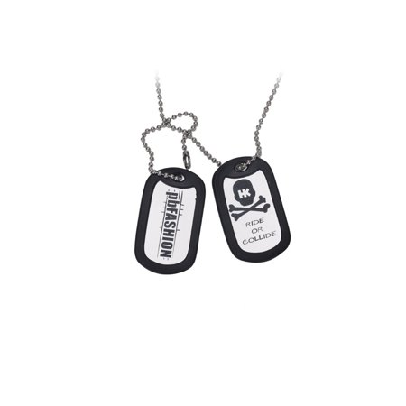 HK Army Dog Tags - Silver - Dog Tags Army