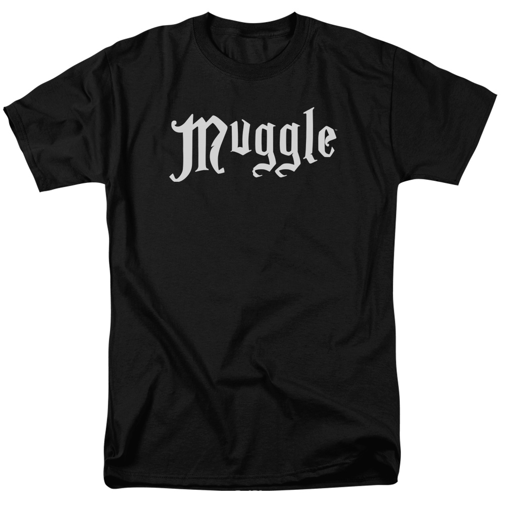 Harry Potter Muggle Mens Short Sleeve Shirt