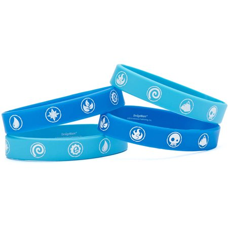 Skylanders Party Favor Rubber Bracelets, 4ct - Skylanders Birthday Party