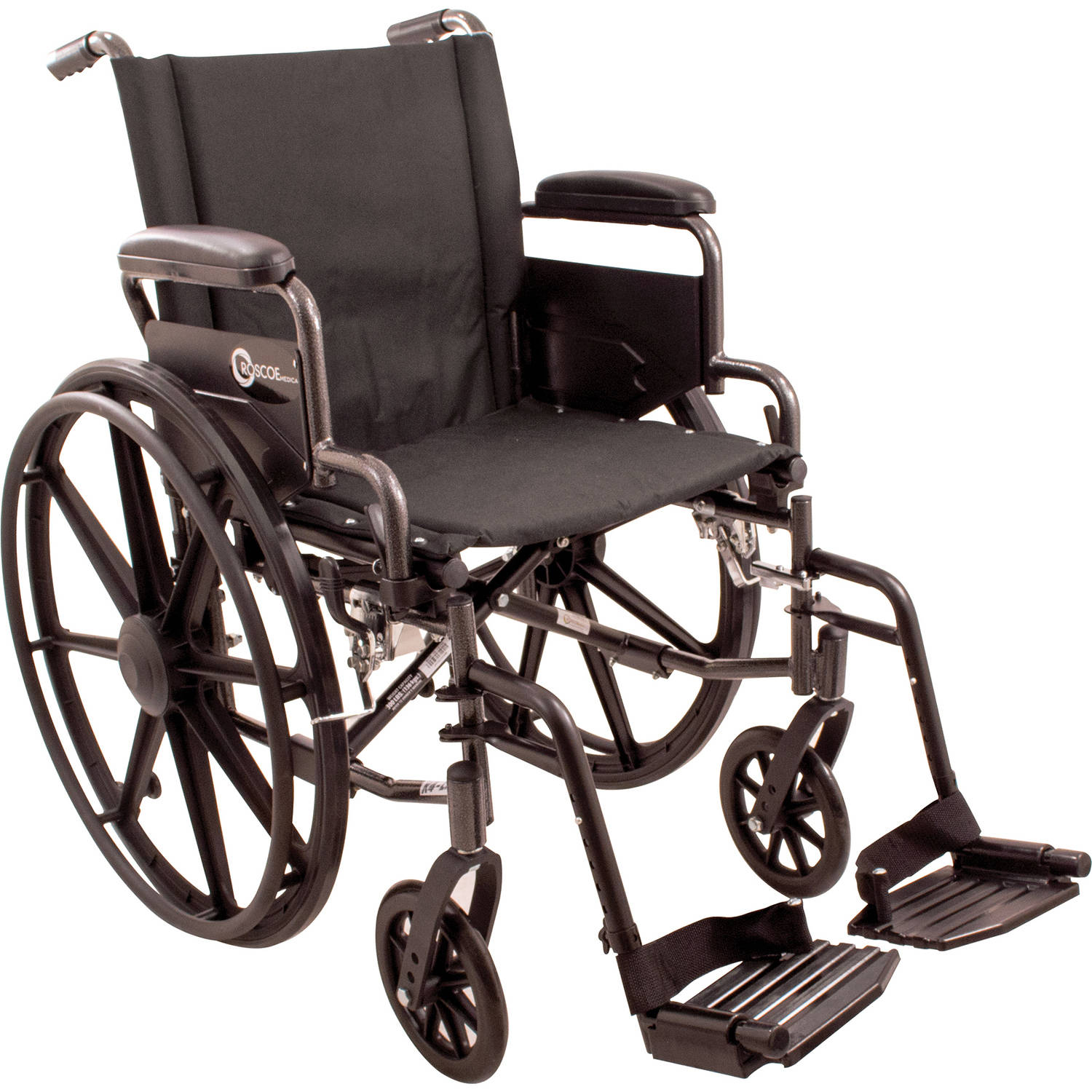 "Roscoe K4-Lite Wheelchair, 16"" with Swing Away Footrests"