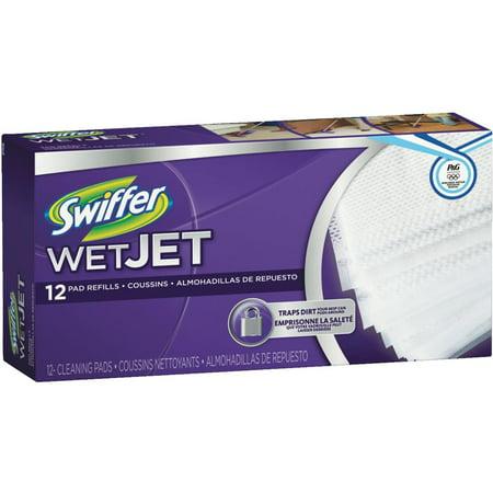 Swiffer For Wet Jet Power Mop Refills 12 Ct Walmart Com