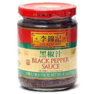 Lee Kum Kee Black Pepper Sauce 8.1-ounce Jars (Pack of 2) by