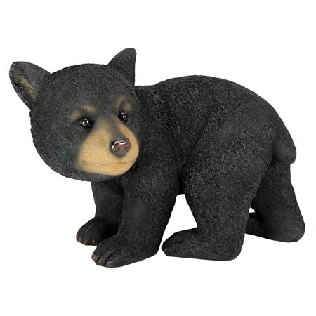 Roly-Poly Bear Cub Statue: Walking Bear