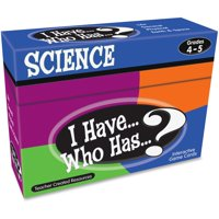 Teacher Created Resources, TCR7858, Gr 3-4 I Have Science Game, 1 Each, Multi