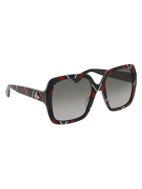 7b71a4ff4 Product Image GG0096S-005 Blue 54mm Gucci GG0096S Sensual Romantic Square  Butterfly Woman Sunglasses