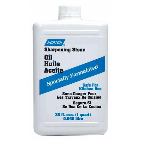 NORTON Sharpening Stone Oil,32 Oz 61463687775 by Norton