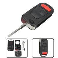 For Chrysler Crossfire 2004-2008 3 Buttons Remote Flip Key Fob Case Replacement