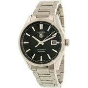 Tag Heuer Men's Carrera WAR211A.BA0782 Silver Stainless-Steel Swiss Automatic Watch