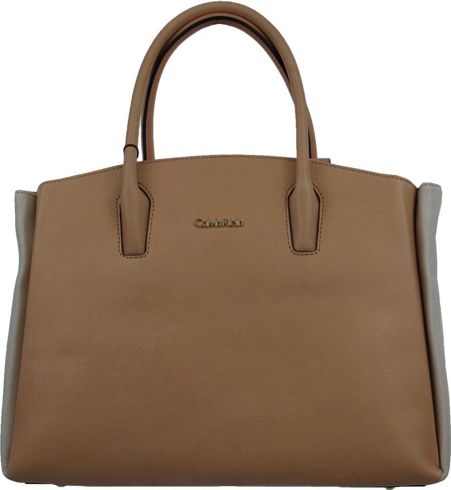 Calvin Klein Vachetta Leather Handbag in Vachetta