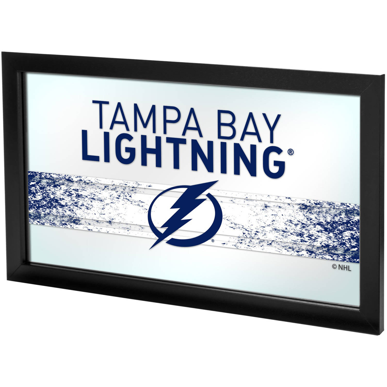 NHL Framed Logo Mirror, Tampa Bay Lightning
