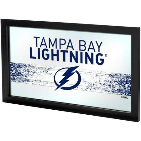 NHL Framed Logo Mirror, Tampa Bay Lightning (Tampa Bay Lightning Bottle)