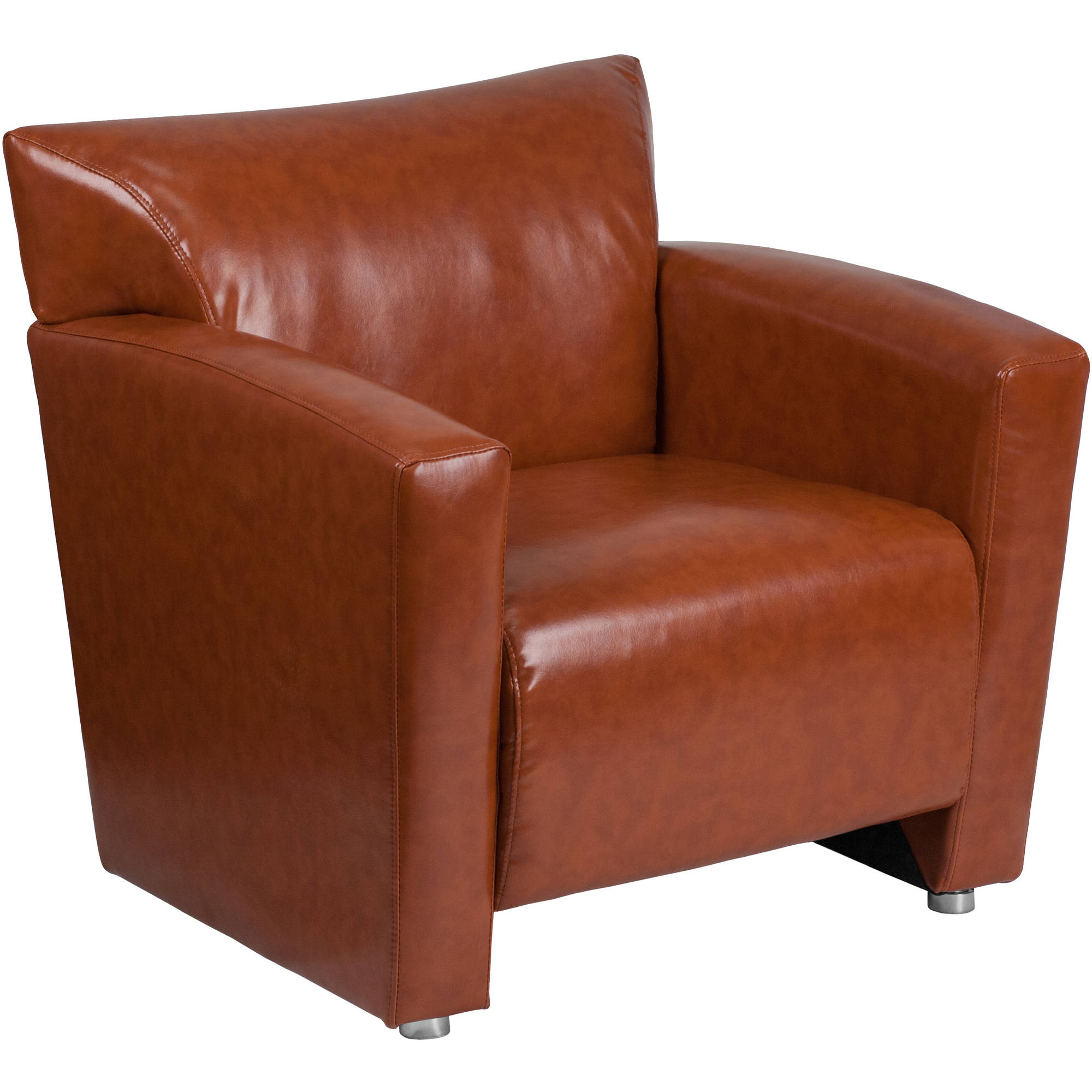 Flash Furniture HERCULES Majesty Series Cognac Leather Chair