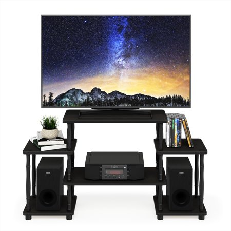 Furinno Turn-N-Tube No Tools Entertainment Center with Bamboo