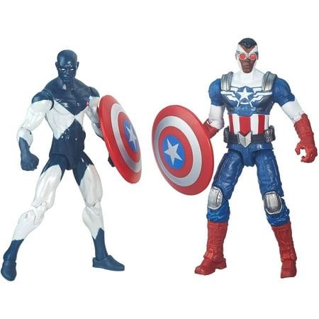 Marvel Legends Series Comic 2-Pack Shield-Wielding Heroes ()