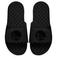 Golden State Warriors ISlide Youth Tonal Slide Sandals - Black