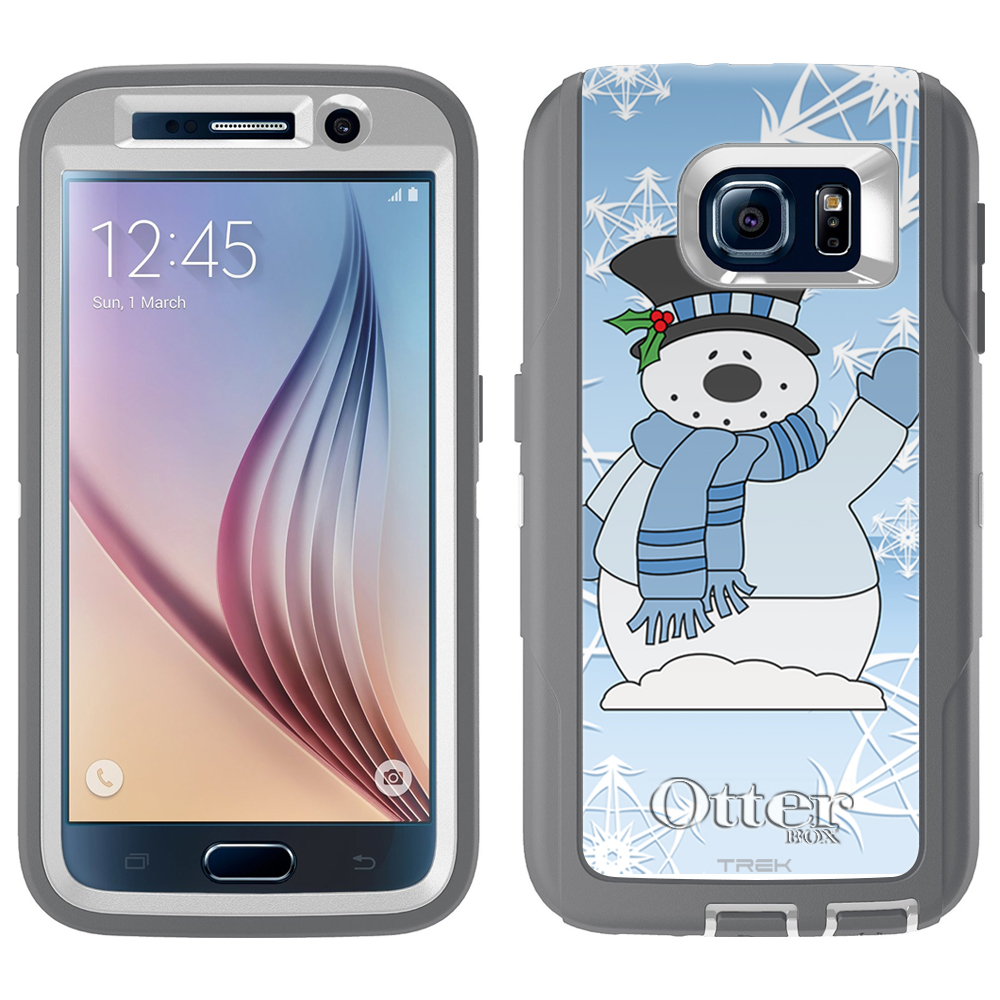 OtterBox Defender Samsung Galaxy S6 Case - Snowman in Blue OtterBox Case