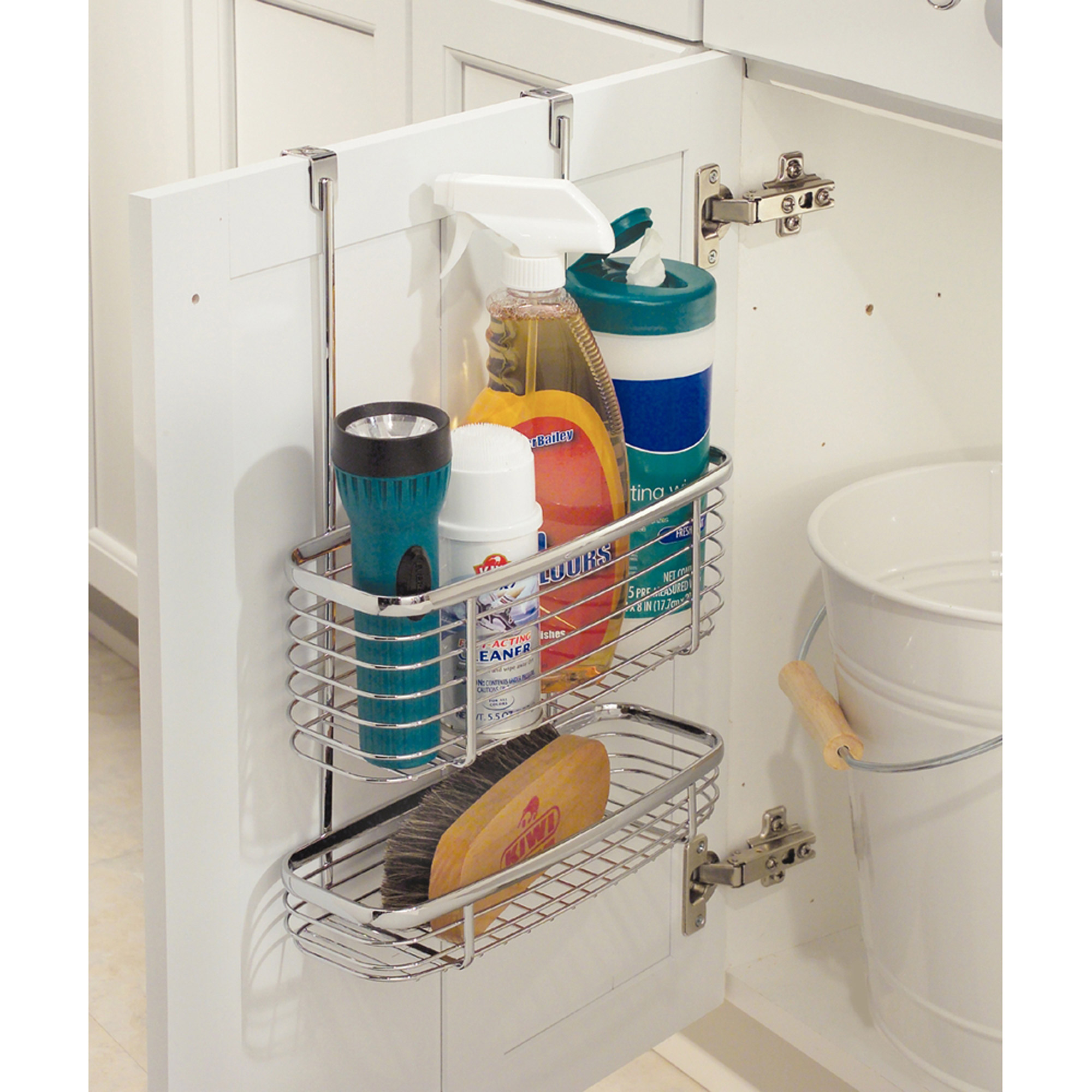 InterDesign Axis Over-the-Cabinet X3 Basket