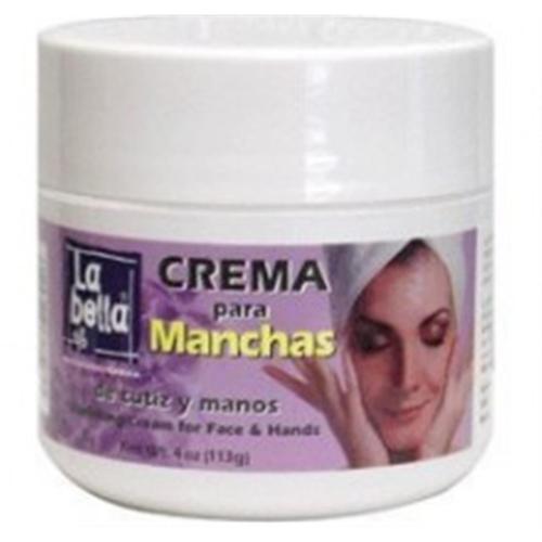La Bella Crema Para Manchas Vanish Cream 4 oz (Pack of 4)
