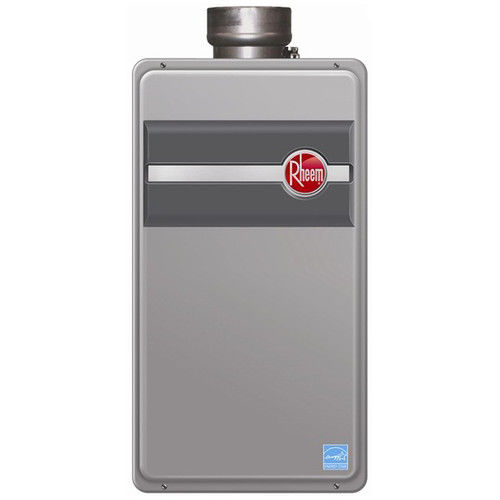 Rheem RTG-84DVLP-1 Indoor Direct Vent Liquid Propane Tankless Water Heater for 3 Bathroom Homes