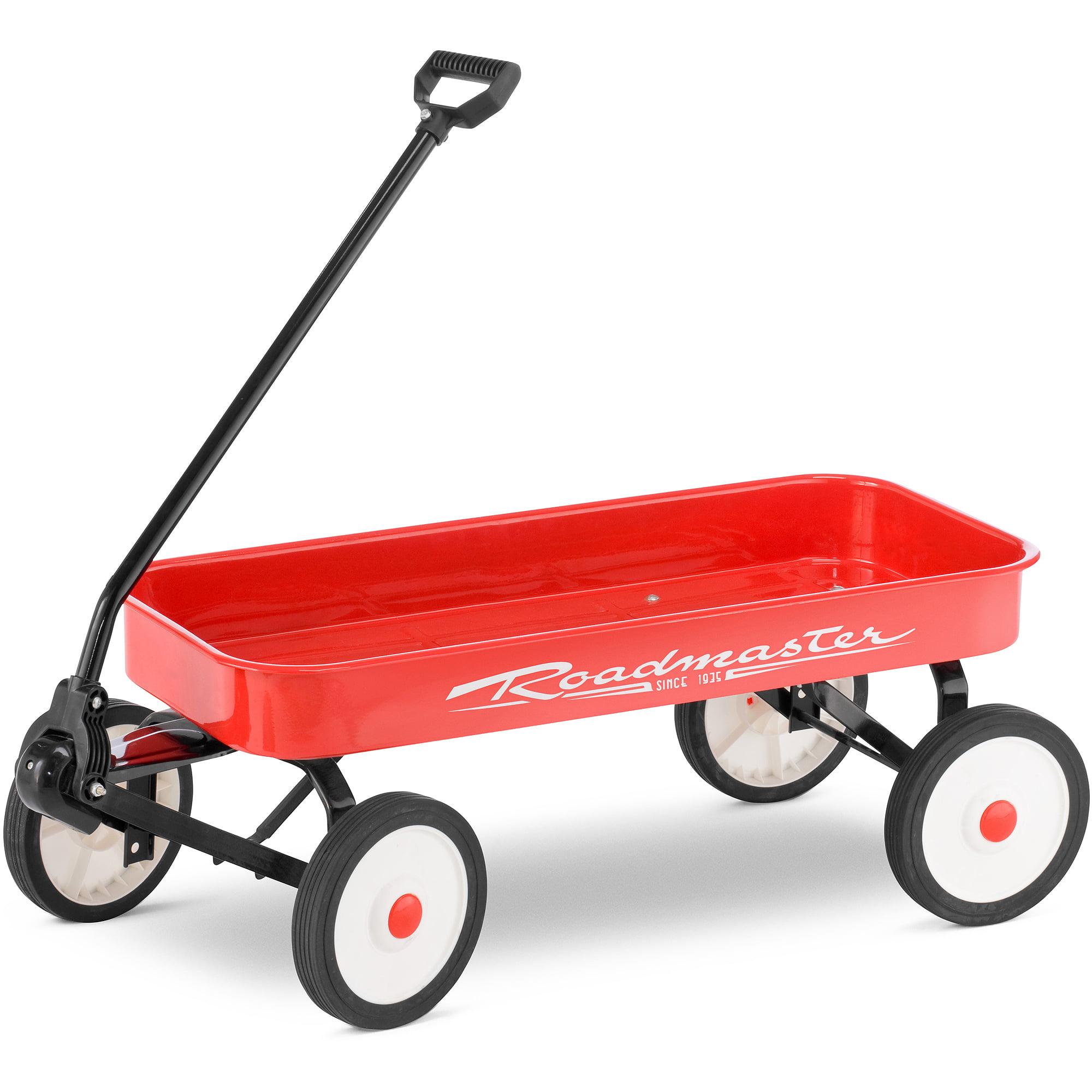 "Roadmaster 34"" Steel Wagon, Red"