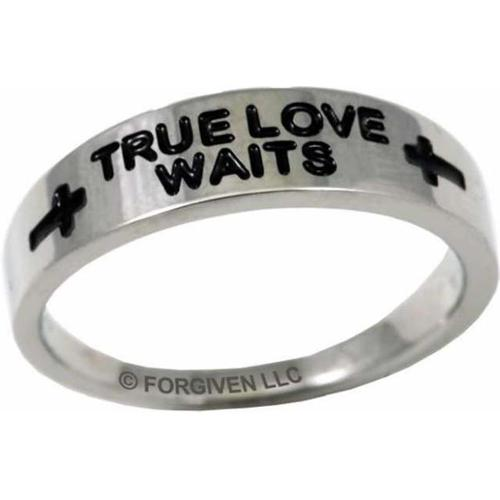 Forgiven Jewelry 118130 Ring Tlw Cross Band Stainless Sz 11