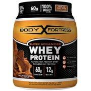 Body Fortress Super Advanced Whey Protein Powder, Chocolate Peanut Butter, 60g Protein, 2lb, 32oz