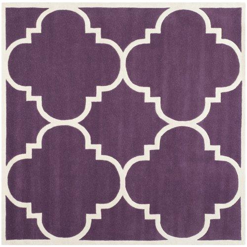 Safavieh Chatham Purple / Ivory Rug