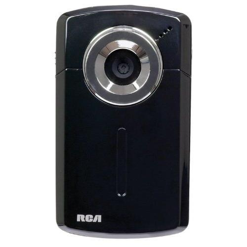 RCA EZ1100 Digital Camcorder with 4x Digital Zoom and 1.8-Inch LCD Screen Black