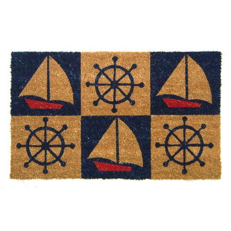 Geo Crafts, Inc Nature Boats and Wheels Doormat