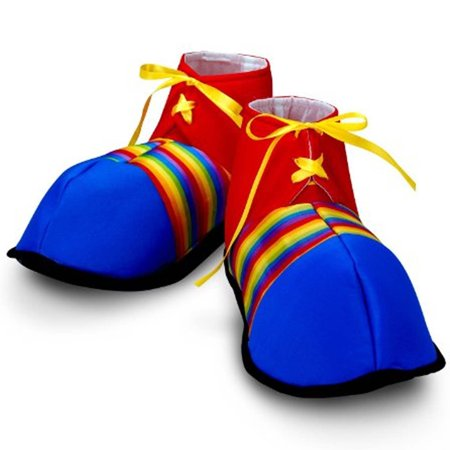 Jumbo Clown Shoes   Costumes   Accessories   Props   Kits  Ideal For Halloween  Carnivals  Or Parties By Fun Express