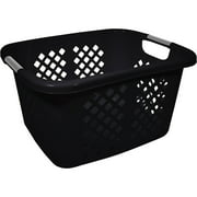 Home Logic 1.5-Bu Laundry Basket, Black