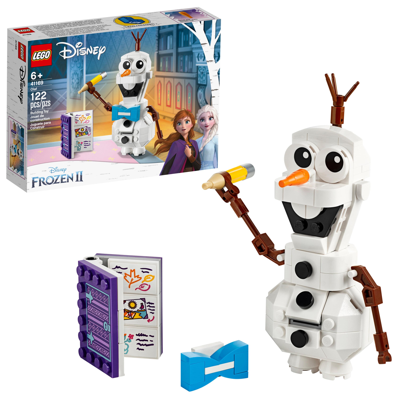 LEGO Disney Frozen II Olaf the Snowman 41169 Building Toy for Frozen Fans (122 pieces)