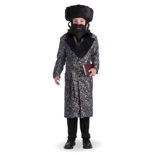 Silver Robe Child Rabbi Costume