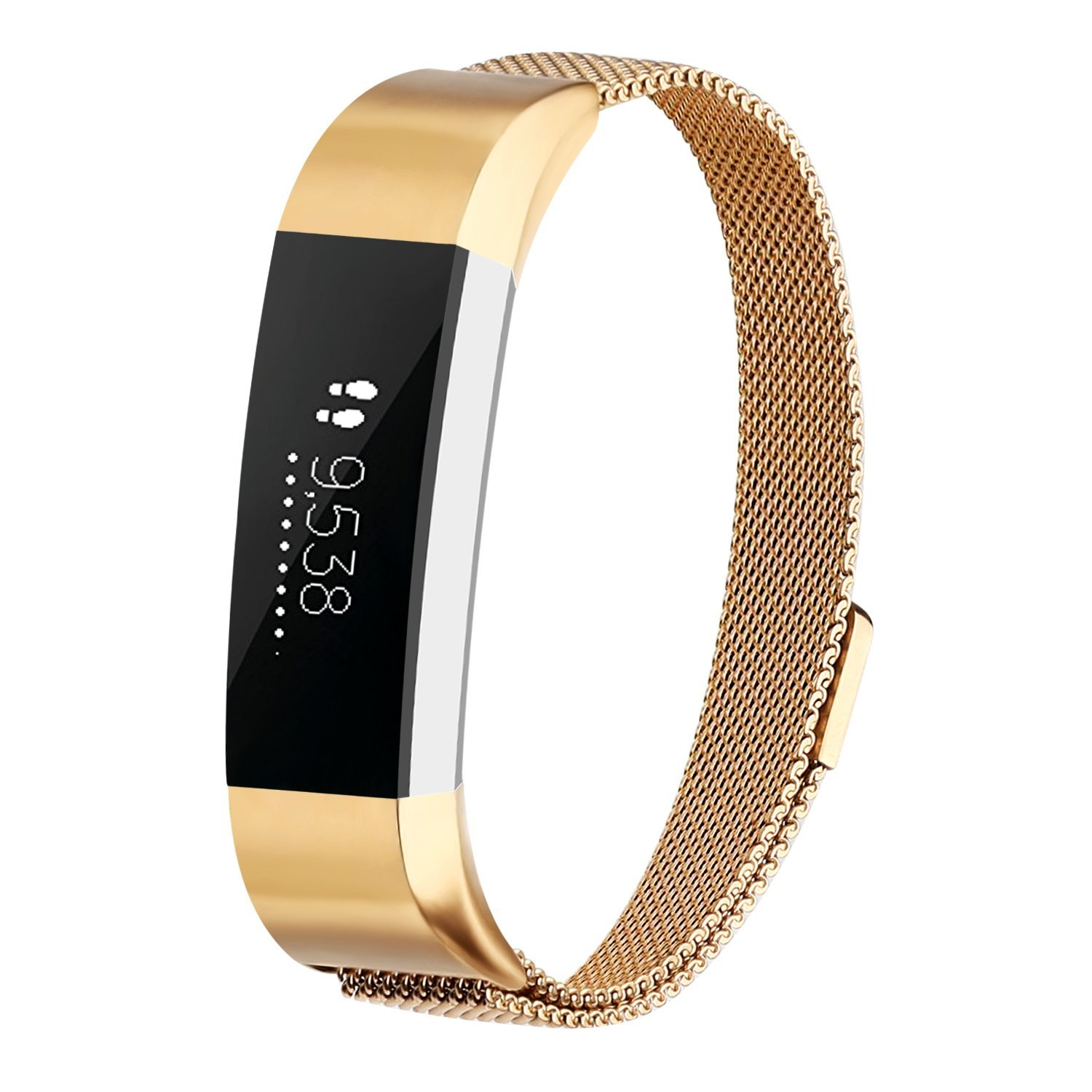 AdePoy Milanese Stainless Band Wrist Strap for Fitbit Alta/Fitbit Alta HR