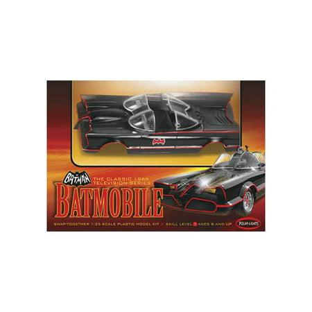 - Round 2 Batmobile Classic 1:25 Scale Snap Model Kit
