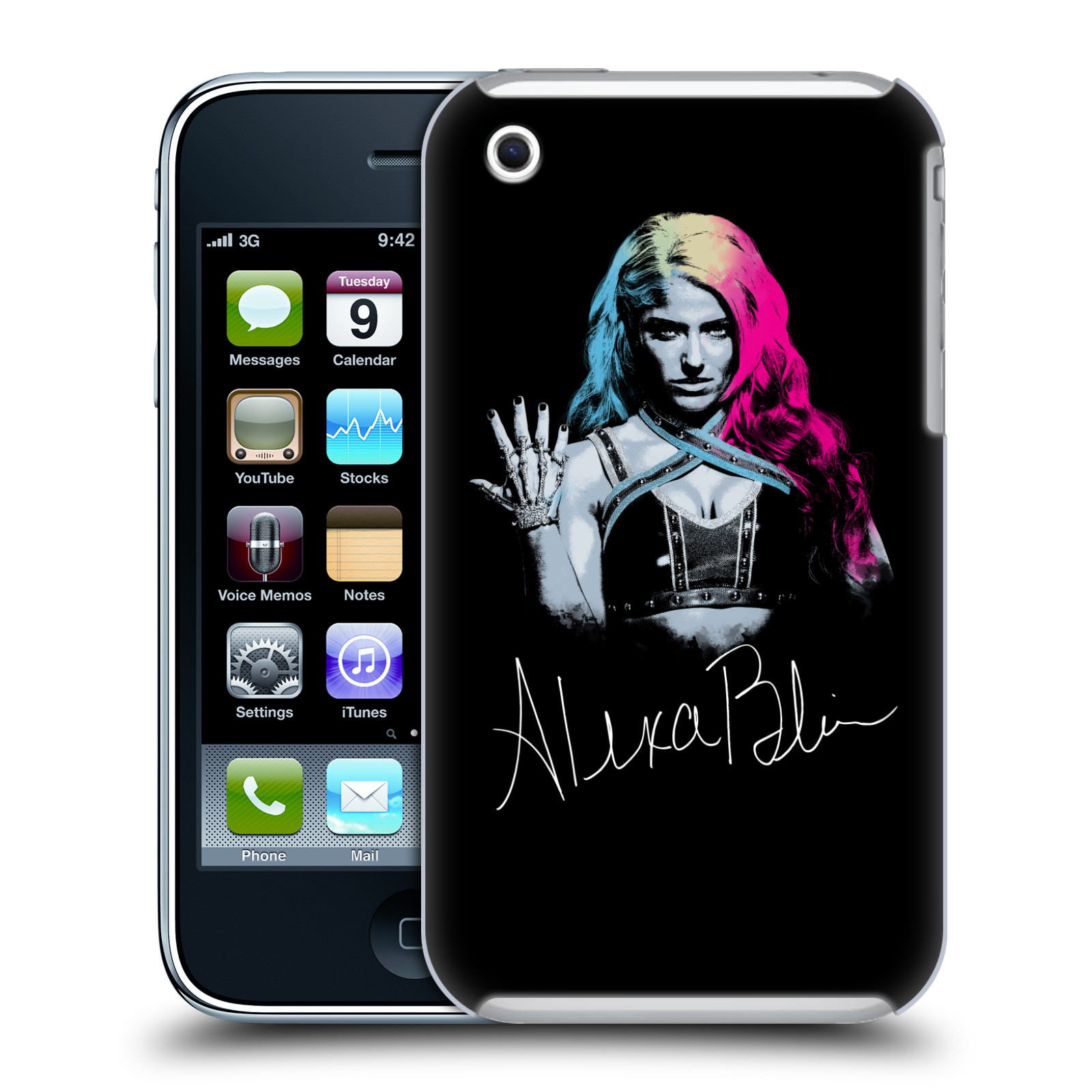 OFFICIAL WWE ALEXA BLISS HARD BACK CASE FOR APPLE IPHONE PHONES