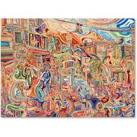"Trademark Fine Art ""Simon Says"" Canvas Art by Josh Byer"