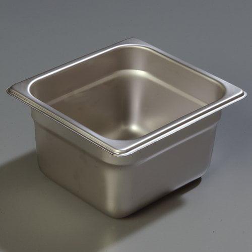 Carlisle Food Service Products DuraPan  24 Gauge 4'' Anti-Jam Pan (Set of 6)