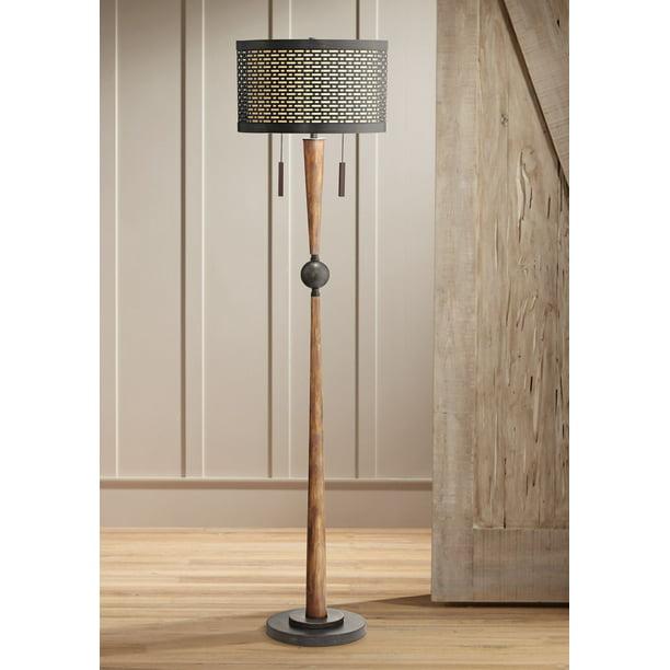 Floor Lamp Cherry Wood