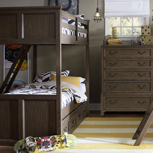 LC Kids Kenwood Twin Bunk End