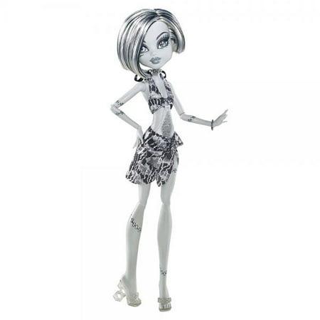 Monster High Skull Shores Frankie Stein Doll - Black Monster High Doll